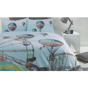 Carnival Double Quilt Cover Set by Retro