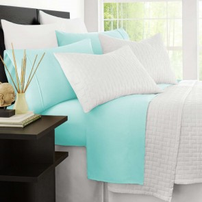 2000TC Cooling Bamboo Double Sheet Set by Ramesses