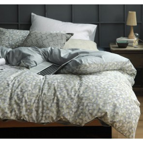Lolani Quilt Cover Set by Cloth & Clay Linen