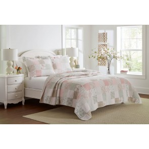 Celina Printed Coverlet Set by Laura Ashley