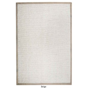 Chapel Beige Natural Fiber Rug by Rug Republic