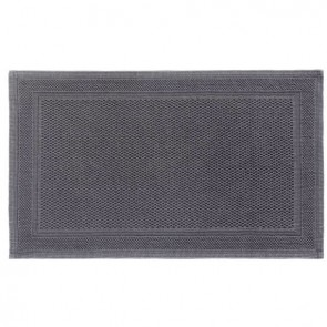 Cobblestone 100% Cotton Jacquard Bath Mat by Renee Taylor