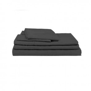 Charcoal Natural Home 100% Bamboo Sheet Set
