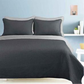 5 Piece Embossed Single/Double Bedspread Set