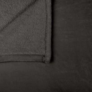 Charcoal Lucia Blankets by Ardor Boudoir