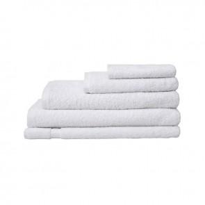 Chateau White Bath Towel Range by Bambury