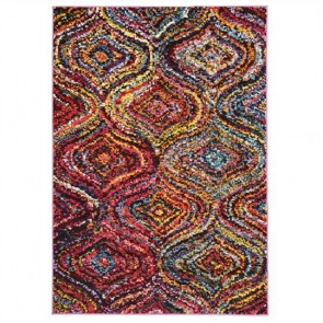 Chindi Turkish Made Modern Rug by Unitex