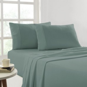 175 Gsm Egyptian Cotton Flannelette Dyed Single Sheet Sets by Park Avenue