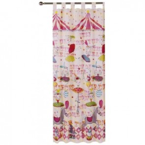 Circus Girl Curtain by Happy Kids