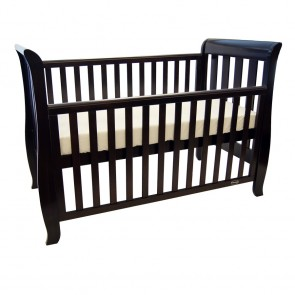 Classic Sleigh 4 In 1 Cot English Oak by Babyhood