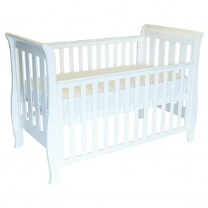 Classic Sleigh 4 In 1 Cot by Babyhood