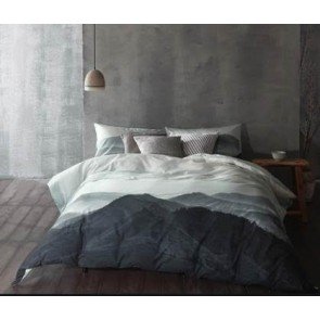Nyoka Quilt Cover Set by Cloth & Clay Linen