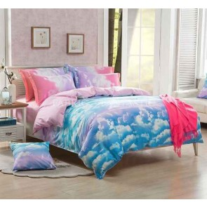 Clouds Quilt Cover Set by Fabric Fantastic