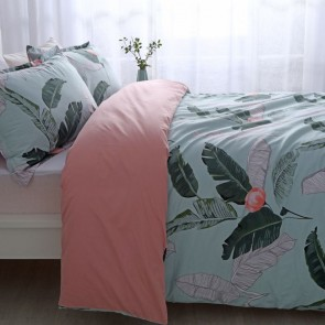 Coconut 250TC Egyptian Cotton Printed Quilt Cover Set