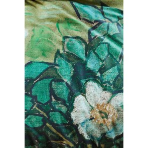 Van Gogh Museum Wild Roses Green Quilt Cover Set by BeddingHouse