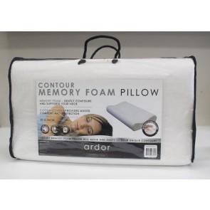 Contoured Memory Foam Pillow by Ardor
