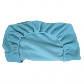 Fitted Cot Sheet Pola Fleece Sky Blue