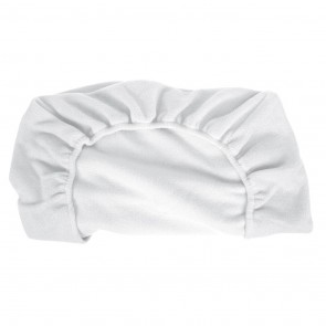Fitted Cot Sheet Pola Fleece White