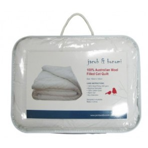 100% Australian Wool Filled Junior Quilt by Jacob & Bonomi
