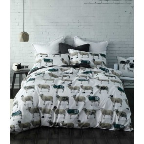 Counting Sheep Quilt Cover Set by MM linen