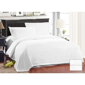 1000 Thread Count American Pima Cotton Sateen Quilt Cover Set by Kingtex