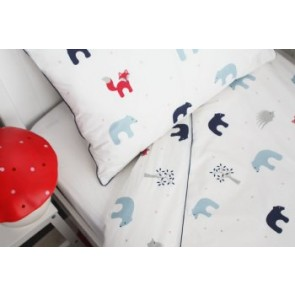 Forest Friends Junior Quilt Cover Set by Jacob & Bonomi