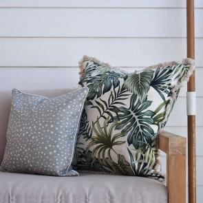 Cushion Cover Coastal Fringe Boracay by Escape To Paradise