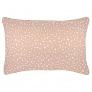 Cushion Cover With Piping Lunar Blush by Escape To Paradise