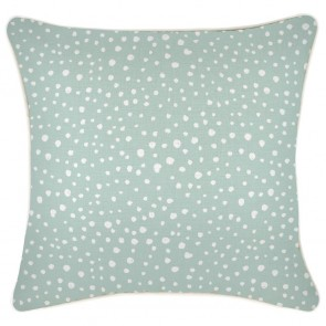Cushion Cover With Piping Lunar Pale Mint by Escape To Paradise
