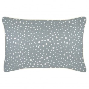 Cushion Cover With Piping Lunar Smoke by Escape To Paradise