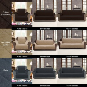 Three Seater Sofa Cover Protector by Custom Fit