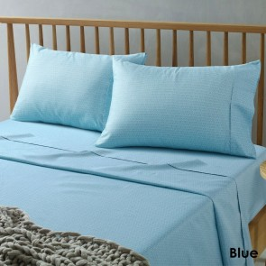 Daisy Blue Microfibre Sheets by Accessorize