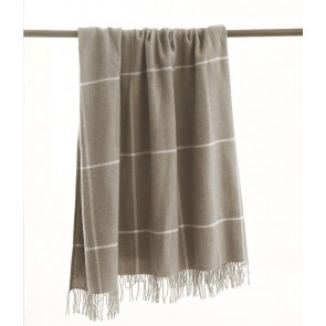 Darcy Taupe Throw Rug by MM linen