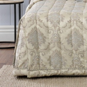 Dorset Taupe Double Bedspread by Bianca