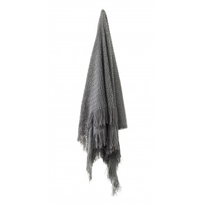 Declan Throw Rug Charcoal by Bianca