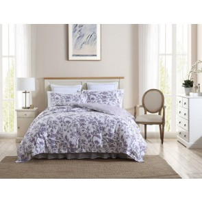 Delila Printed Quilt Cover Set by Laura Ashley