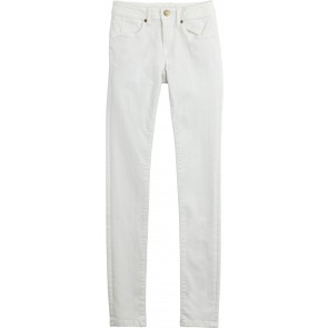 Denim & Co White Cotton Chinos