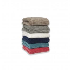 Queen Diamond Fleece Blanket by Apartmento