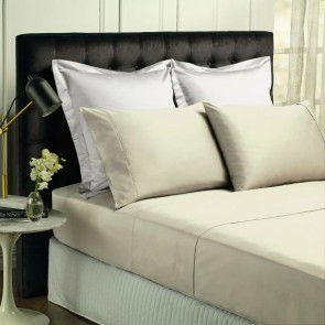 500 Thread Count Natural Bamboo Cotton Mega Queen Sheet Sets by Park Avenue