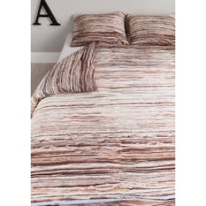 Tell Natural Cotton Quilt Cover Set by Bedding House