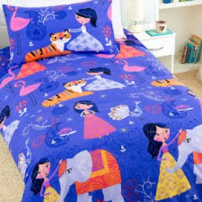 Arabian Nights Single Quilt Cover Set by Happy Kids