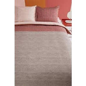 Oilily Pale Blush Sand Cotton Sateen Quilt Cover Set by Bedding House