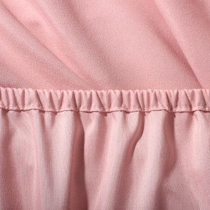 Dusky Pink 1000GSM Plain Dyed MF Fitted Sheet