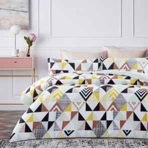 Ethan Microfibre Printed Quilt Cover Set