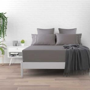 Platinum Cotton Plain Dyed 1000tc Fitted Sheet