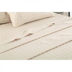 Stripe Birch 1000 Thread Count 100% Egyptian Cotton Quilt Cover Set