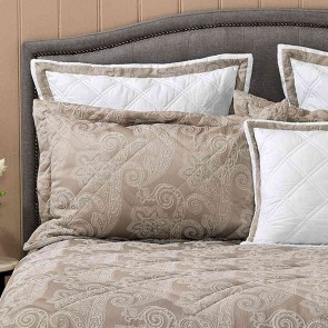 Dresden Taupe Comforter Set by Bianca