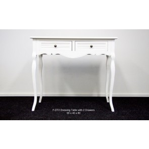 Dressing Table With 2 Drawers by Living Good