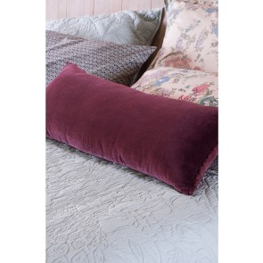 Duvale Grape Bolster Cushion by Bianca Lorenn