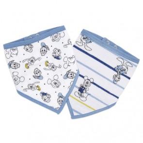 Essentials Disney Bandana Bib 2PK Mickey Stargazer by Aden and Anais